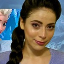 Queen Elsa Make Up Tutorial