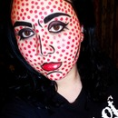 Pop Art/ Comic Book Makeup