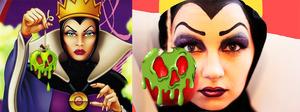 Disney's Evil Queen next to my version xo