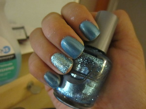 Jade Polish in Secret Admire and Iced Blue
