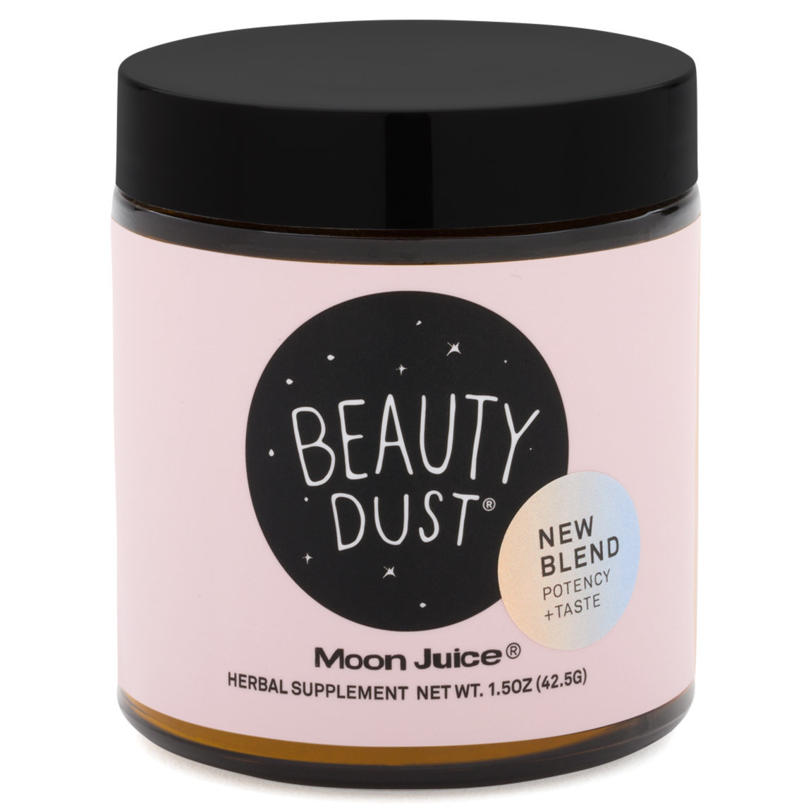Moon Juice Beauty Dust product smear.