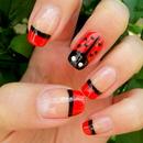 Ladybug Nail Design