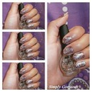"""NOTD: Nicole by OPI """"Stars At Midnight"""""""