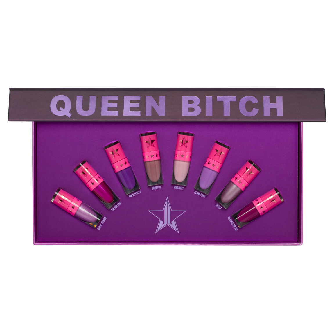 Jeffree Star Cosmetics Mini Purple Bundle alternative view 1 - product swatch.