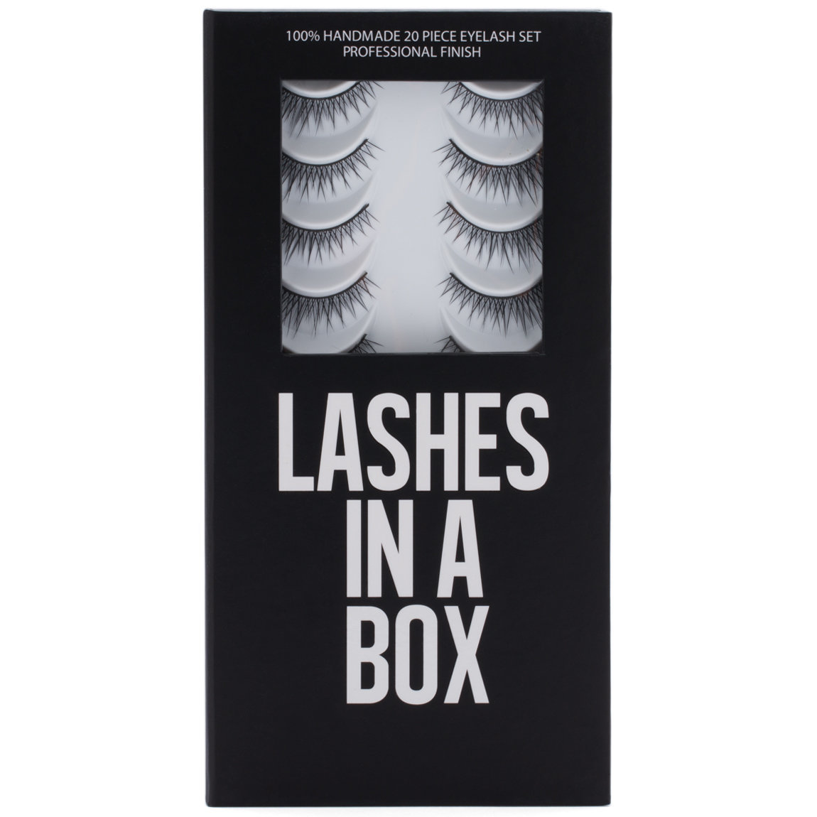LASHES IN A BOX N°10 product swatch.