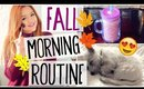 FALL MORNING ROUTINE! School day!