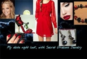 Everything you need for a wonderful and sexy, date night with that special some one. Featuring Secret Dreams Jewelry!