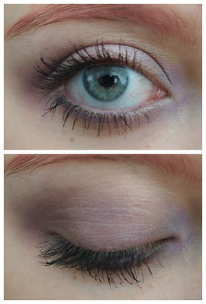 I am in love with lavender shadows right now and this s one of the looks I did.