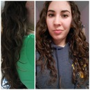 Curly Girl Method: Before & After