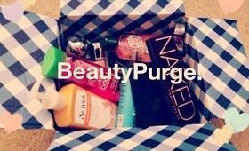 MAKEUP/HAIRCARE PURGE!! (Urban Decay, NARS, Dior, and more!)
