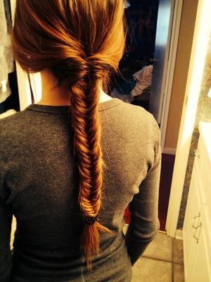 Fish tail braid 🐠🐟🐡