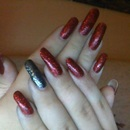 """""""Ring In The Red"""" China Glaze"""