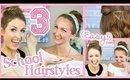 3 (EASY!) Ways to Wear Hair Accessories for School! || #SchoolPrep101