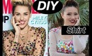 DIY Miley Cyrus Cosmo Dress/Top