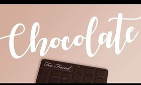 Too Faced Chocolate Bar Eyeshadow Palette Swatches 🍫 All 16 colors