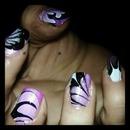 nail marble