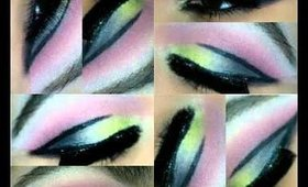 Colorful makup