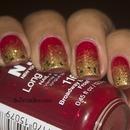 Solar Flare Christmas Nails