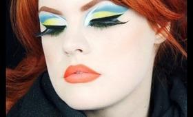 Acid Pastels Makeup Tutorial