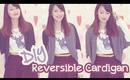 ☂ DIY: Simple Reversible Cardigan
