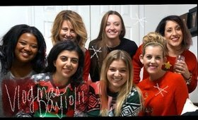VLOGMAS 2016 DAY 10 & 11|My favorites things party and first real snow fall