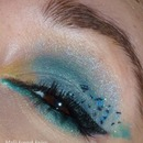 """Peacock"" make-up :)"