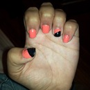 Did my own nails<3