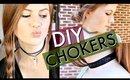 DIY CHOKERS! 3 EASY STYLES    Kristen Kelley