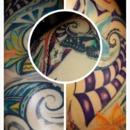 color polynesian tattoos