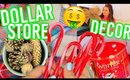 DIY Dollar Store Decor! Cute Holiday Room Decorations for Cheap!