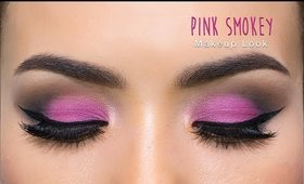 Pink Smokey Eyes for Valentine's