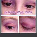 purple eye look👀