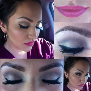 My makeup look for the day. Using naked 2 my fave palette!!