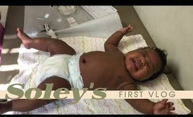 Soley's First Vlog | First Shots, First Parties, First Mall Trip