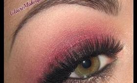 Cranberry Smoky Makeup Tutorial for Christmas