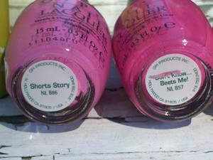 OPI Shorts Story  Don't Know..Beets Me!