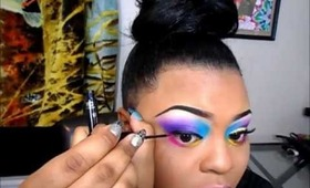 Colorful Summer Makeup! *TymetheInfamous Contest Entry*