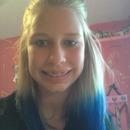 my blue hair