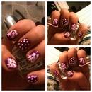 xmas nail design