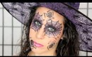 Sexy Spider Witch Makeup Tutorial