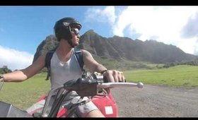 ATV TOUR AT KUALOA RANCH! - A GLOBAL STROLL TRAVEL BLOG