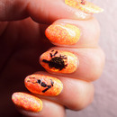#Busygirlnails Week 4 Orange