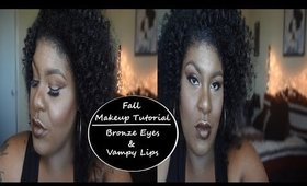 Vampy Fall Makeup Tutorial   Jessibaby901