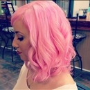 Pastel Pink Hair by Aimee J'Adore