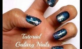 Tutorial Galaxy Nails