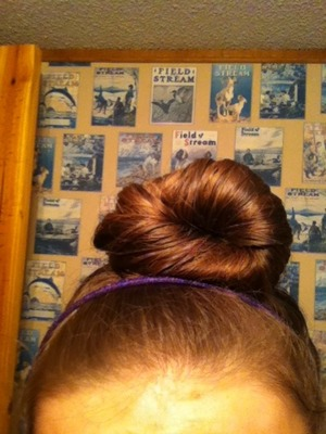 Like my bun?