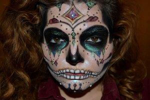Bejewelled Sugar Skull