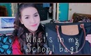 What's in my school bag 2014 + Giveaway winner!