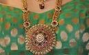 Indian Bridal Rani Haar Set - 10 PIECES