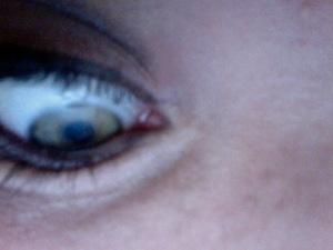 [Audrey] smokey eye.